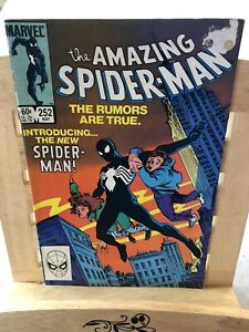 The Amazing Spiderman # 252 May 1984 Marvel  1st App Black Symbiote Costume