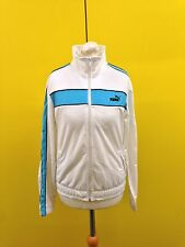 Womens Puma Track Top - Uk10/12 - White - Great Condition