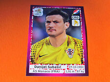 375 SUBASIC MONACO HRVATSKA  FOOTBALL PANINI UEFA EURO 2012