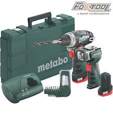 Metabo Akku-Bohrschrauber Powermaxx BS Basic mit ULA LED [2x 10,8V 2,0Ah] BS12