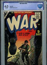 War Comics Issue #43 CBCS 4.0 Atlas Comics Golden Age1956 Amricons