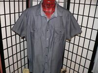 MARC ANTHONY SLIM FIT SHORT SLEEVE 100% COTTON CASUAL SHIRT MENS SIZE XXL 2XL