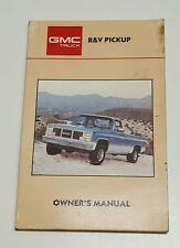car truck manuals literature for gmc ebay rh ebay com gmc sierra owners manual 2014 gmc sierra owners manual 2016