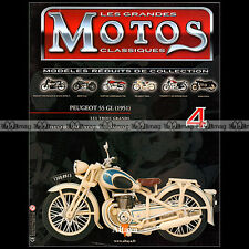 MOTOS CLASSIQUES N°4 ★ PEUGEOT 125 55 GL (1951) ★ 175 GS HARLEY INDIAN EXCELSIOR