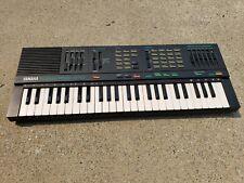 YAMAHA Portasound PSS-370 Synthesizer Keyboard Black With No Power Supply *Read*