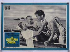 LA SETTIMA ONDA dramma Sale TYRONE POWER ZETTERLING NOLAN fotobusta 1957