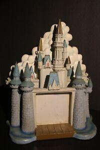 walt disneyworld 3d cinderella castle picture frame heavy