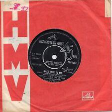 JOHN LEYTON & THE LE ROYS    MAKE LOVE TO ME /  MISSING YOU    UK HMV  60s POP