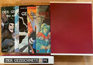 DER GEZEICHNETE  Bd. 1 - 5 HARDCOVER ,1.AUFLAGE Arboris Verl. in Luxus-Schuber