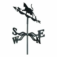 More details for weather vane cat & mouse wind direction compass
