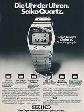 Seiko-LC-QUARTZ - 1976-pubblicità con loghi pubblicità-Genuine Advertising-NL-commercio di spedizione