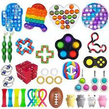 3-37 Pack Fidget Toys Set Sensory Tools Bundle Stress Relief Hand Kids Adult Toy