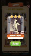 Coin Master Cards 25x Marble Man Fast Delivery
