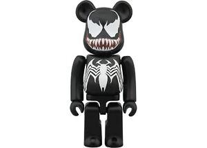 Venom Bearbrick 100% Black Marvel The Amazing Spiderman Medicom Be@rbrick Rare