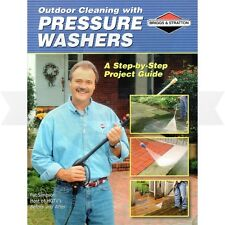 Genuine OEM Briggs and Stratton How to Use Pressure Washers Guide Part # 6037