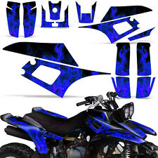 Decal Graphic Kit Yamaha Warrior 350 ATV Quad Decal YFM350X Wrap 87-04 ICE BLUE
