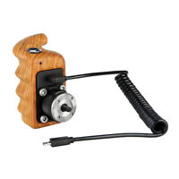 NICEYRIG Wooden Handle with Record Start/Stop Remote for Sony Mirrorless Camera