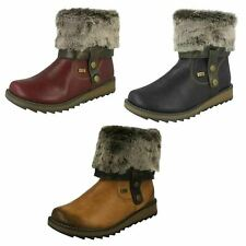 Ladies Remonte All Weather Warmlined Casual Boots - D8874
