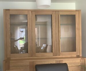 M&S 3 Door Dresser Top - Oak - Sonoma Range