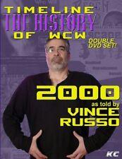 WCW Timeline 2000 Vince Russo WWE WCW ECW NWO Ric Flair Sting NWO Hulk Hogan DX