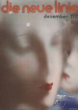 "LASZLO MOHOLY-NAGY ""Die neue Linie, Dezember 1931"" Reproduction Bauhaus Poster"
