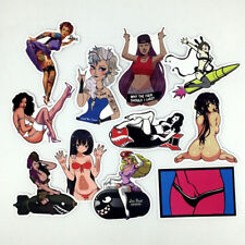 50Pcs Sexy Girl Skateboard Stickers DIY Laptop Luggage Stickers Decals WKCA