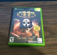 Star Wars Knights of the Old Republic II - The Sith Lords Xbox CIB