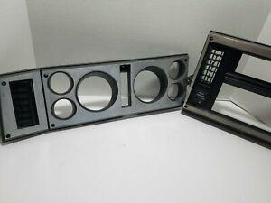 82-85 Chevy S10 Instrument Cluster Dash Bezel Silver Blazer Jimmy Sonoma S15 83