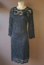 A.B.S By Allen Schwartz black lace dress, Sz medium