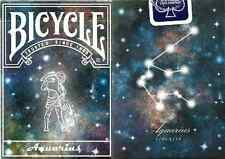 Bicycle Constellation Series - Aquarius Playing Cards - Prototype LE - SEALED