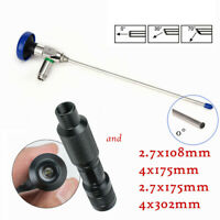 0°30°70°2.7/4mm Arthroscope Endoscope Connector Fit Storz/Wolf+Cold Light source