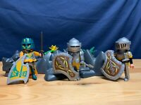 Playmobil Mixed Castle Knights Play Set VGC, weapons, shields etc  (A)