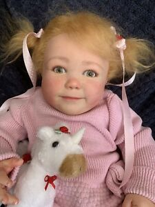 Sweet Reborn Baby GIRL Doll BELLA was June Standing Bountiful Baby COMPLETED 3Ms