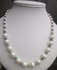 "Emerald 18 - 19.99"" Fine Pearl Necklaces & Pendants"