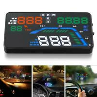 AutoCar HUD GPS Head Up Display Speedometer Overspeed Alarm Windshield Projector