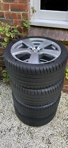 """Mercedes 18"""" wheels and tyres"""