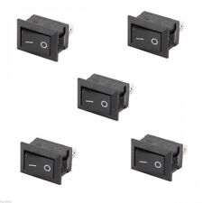 New 10Pcs Car Truck Boat Round Rocker 12V 16A 2-Pin ON/OFF Toggle SPST Switches