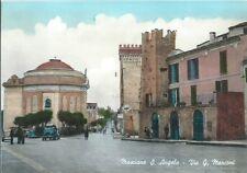 Mosciano Sant'Angelo Via Marconi  Cartolina non viaggiata 1960 circa