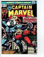Captain Marvel #33 1974  Battles Thanos Origin Retold