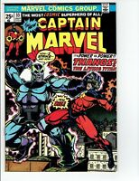 Captain Marvel #33 1974  Battles Thanos Appearance Thanos Origin Retold