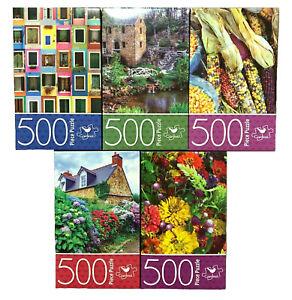 500 Piece Jigsaw Puzzle 27.94cm x 35.56cm Different Design Scenic Vegetable NEW