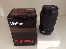 Vivitar 70-210 mm f4.5-f5.6 macro 1:5x 1:5x N/AI-S Obiettivo con imballo originale,