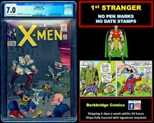 🔥 X-MEN #11 CGC 7.0 OW WHITE PAGES 🔥 1st STRANGER 🔥 $1 SHIP W/ OUR 104 or 120