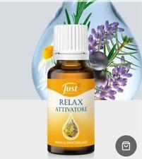 Olio relax attivatore Just essenziale essenza aromaterapia dormire 20 ml gocce
