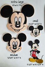 Medium Mickey Mouse Iron On Patch - Disney Applique - READY TO SHIP!