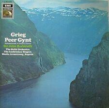 SHEILA ARMSTRONG - THE HALLE ORCHESTRA - SIR JOHN BARBIROLLI - GRIEG - LP