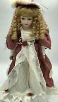 Vintage 1990s, Homeart, Fine Bisque Porcelain Doll, CHARLOTTE, New Condition #3