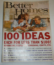 better homes and gardens magazine 100 ideas remodeling october 1965 122014r. beautiful ideas. Home Design Ideas