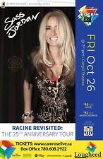 """Sass Jordan """"25th Anniversary Tour"""" 2018 Alberta, Canada Concert Tour Poster"""