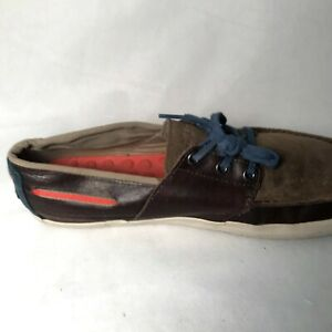 Tretorn  Men's Toffee Brown  Woven Otto Canvas  Sz 10 M Sneaker